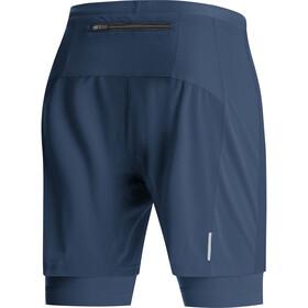 GORE WEAR R5 2in1 Shorts Men deep water blue
